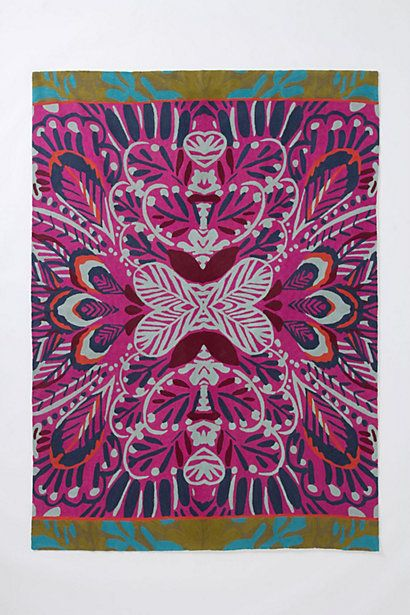 Mirrored Plumes Rug - Anthropologie.com