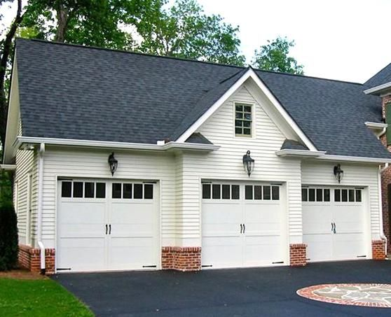 3 Car Detached Garage With Apartment Garage Plans The Garage Plan Is A Niceplement To Any Colonial O In 2020 Carriage House Plans Garage House Plans Garage Door Design