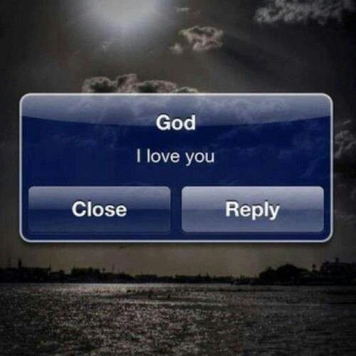 God, I love you!