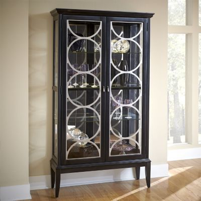 Accents Zander Display Cabinet Accents Havertys