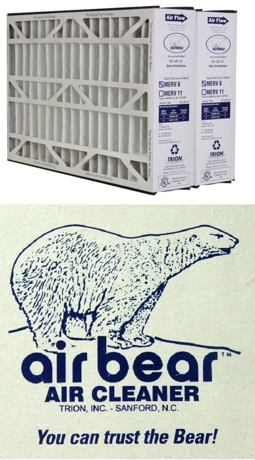 Trion Air Bear 255649105 Replacement Filter 16x25x5 Check Out