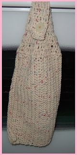 Free Crochet Patterns For Hanging Kitchen Towels : Free Crochet Hanging Dishtowel Pattern Crafts, Free ...