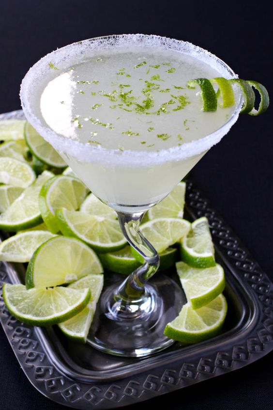 Lime Drop Martini replaces the classic lemon with lime. And what a ...