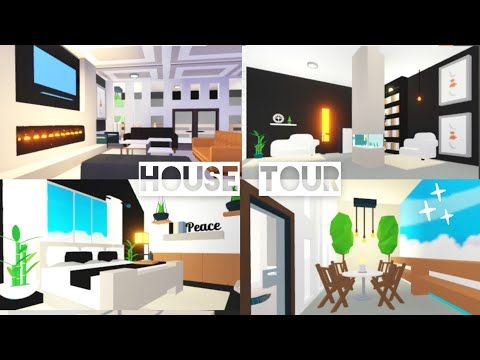 Modern Mansion Balcony House Tour My Curtain Hack Tutorial Adopt Me Roblox Youtube House With Balcony Modern Mansion Modern Mansion Interior