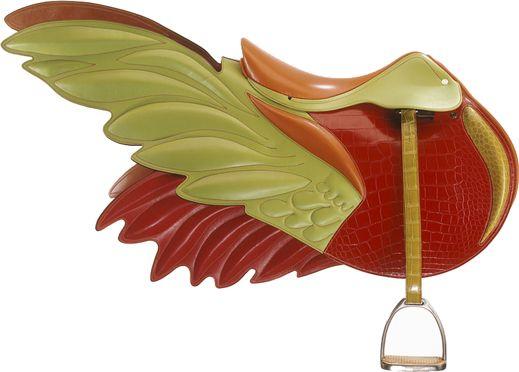 http://www.lacavalieremasquee.com/ / Hermès saddle