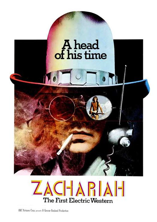 Zachariah, an acid Western based on Hesse's Siddhartha.The first electric Western  ahead of his time,