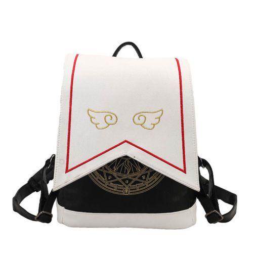 Cute Anime Card Captor Sakura Kinomoto Backpack Lolita Magic School Shoulder Bag