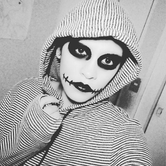 Maquillaje Sencillo Terror