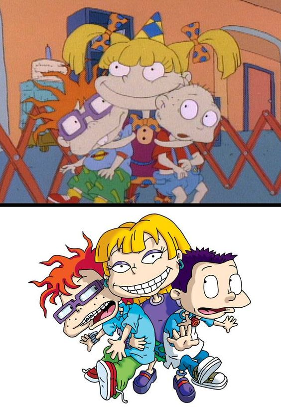 What Chuckie Finster Angelica Pickles Tommy Rugrats And