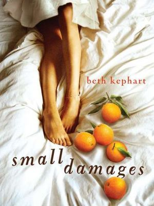 Small Damages - Beth Kephart.    Eighteen-year-old Kenzie of Philadelphia, pregnant by Yale-bound Kevin, is bitter when her mother sends her to Spain to deliver and give her baby away, but discovers a makeshift family with the rancher who takes her in, his cook, and the young man they have raised together.