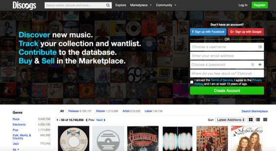 Vinyl Collection Database Software