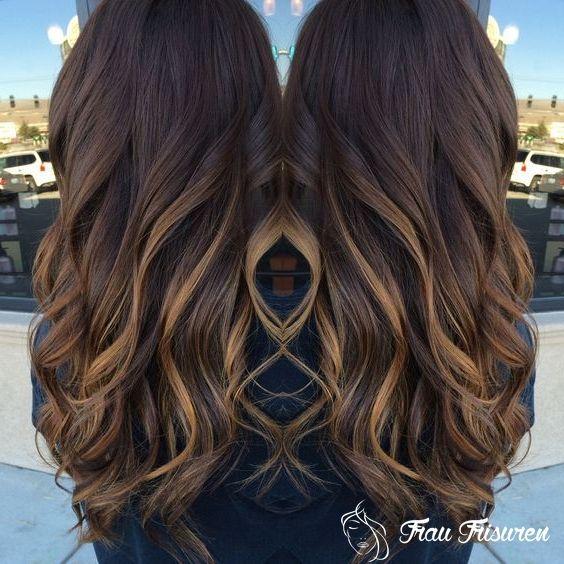 Neu Frisuren Fur Herbst 2019 Langes Haar Haar Styling Ombre Haare Highlight Frisuren