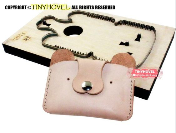WellieSTR DIY Leather Craft Sewing Pattern Women Shoulder Bag PVC Template Set
