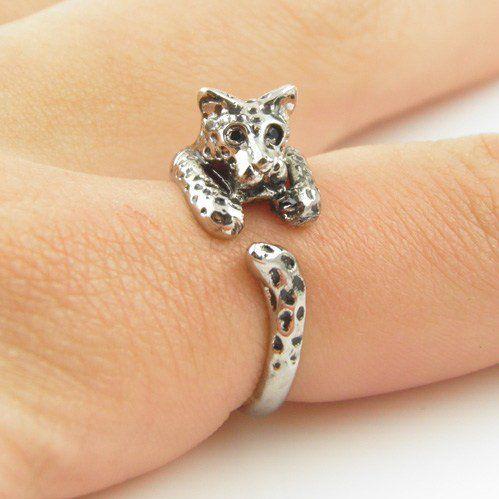 #KejaJewelry on Artfire   #ring                     #Shiny #Silver #Leopard #Wrap #Ring                 Shiny Silver Leopard Wrap Ring                                                http://www.seapai.com/product.aspx?PID=763498
