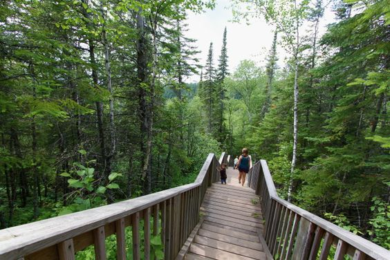 3. Judge C. R. Magney State Park is another of Minnesota's lesser visited parks and offers amazing hiking and views of the Brule River , not to mention the Devil's Kettle.