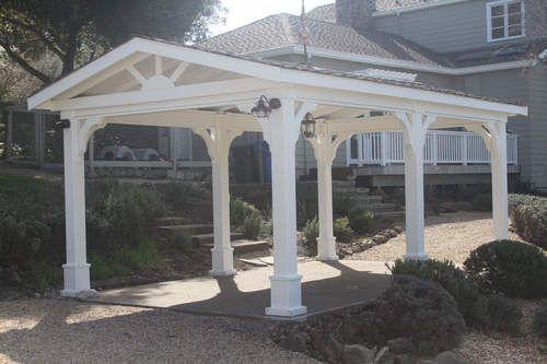 Pressure Treated Pine Gabled Roof Pavilion Gazebo Pergola Pergola With Roof