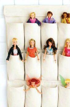 Idea para guardar muñecas