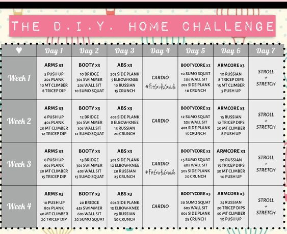 Go to www.fitgirlsguide.com for their workout plan, nutrition plan, and e-book! I'm excited to start this challenge.