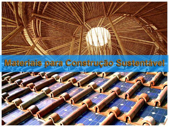 Materiais para construção sustentável: critérios para o LEED V4