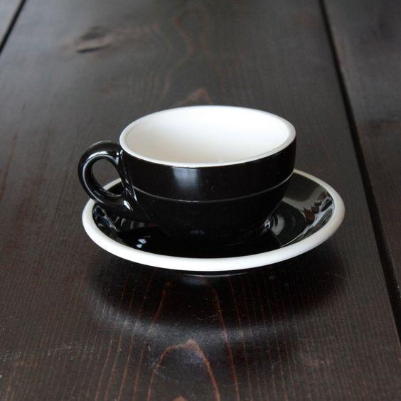 Cup&Saucer #black