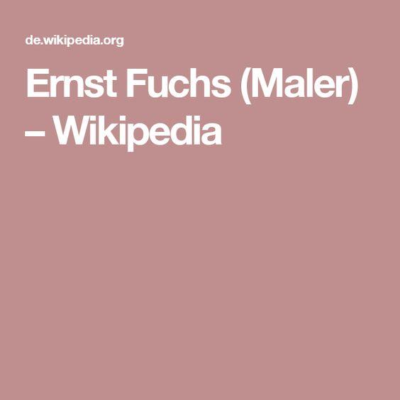 Ernst Fuchs (Maler) – Wikipedia