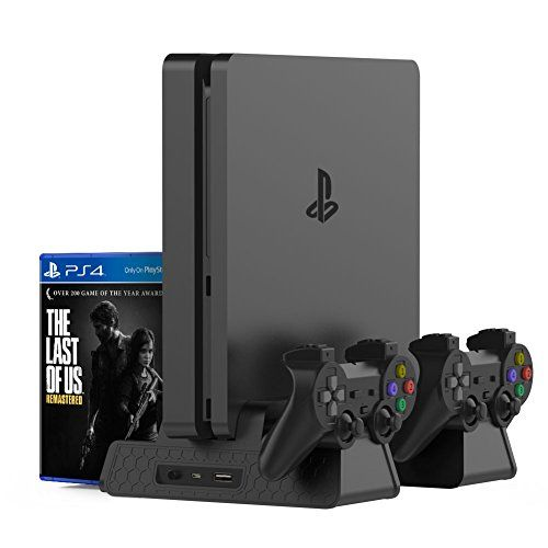 Kootek Vertical Stand For Ps4 Slim Ps4 Pro Regular Ps4
