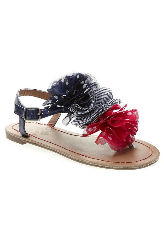 #Sandals fourth of july!