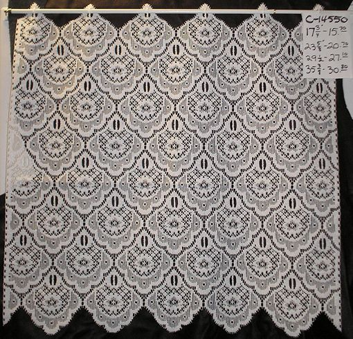 Free Knitting Patterns For Lace Curtains : German Lace Curtains and German Drapery Fabrics - Cafe Curtain ... crochet ...