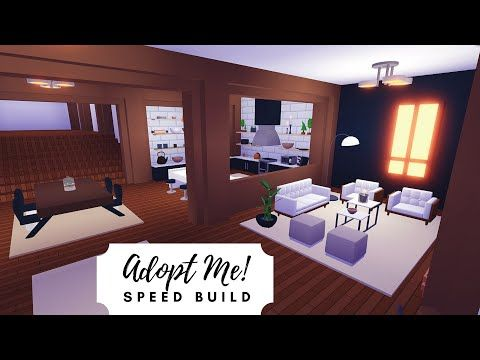Roblox Adopt Me Living Room Ideas Pirate House Speed Build Part 1 Roblox Adopt Me Youtube In 2020 Cute Room Ideas Unique House Design Adoption