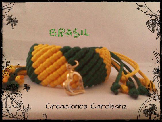 Pulsera cola de ratón, Mundial 2014, Brasil.