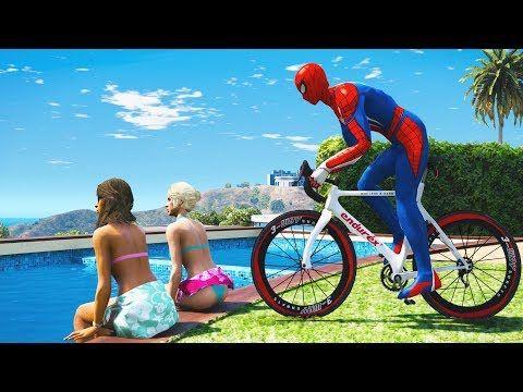 Spiderman Water Ragdolls Gta 5 Jumps Fails 8 Euphoria Physics