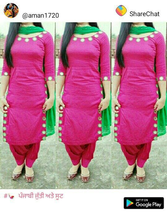 Pin By Gurbksh Kaur On Shalwar Kameez Salwar Suit Neck Designs Neck Designs For Suits Kurta Neck Design