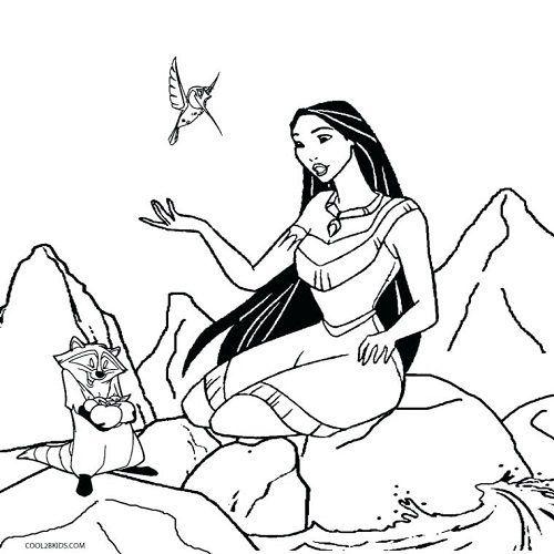 Pocahontas Ausmalbilder Kinder Fur Malvorlagen In 2020 Malvorlage Prinzessin Disney Prinzessin Malvorlagen Ausmalbilder