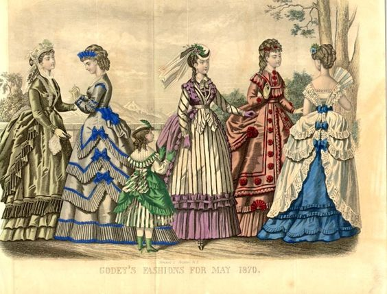 Godey's fashions for may 1870