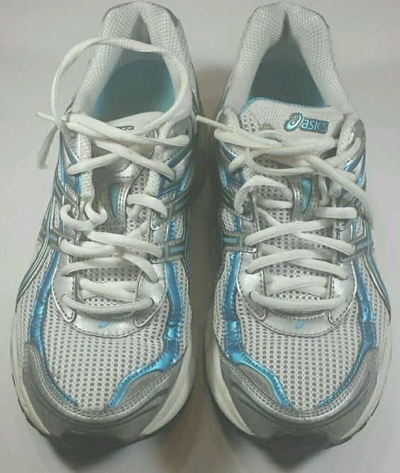 womens asics trainers size 9