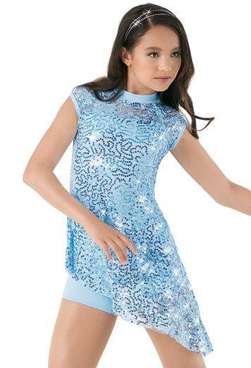 Weissman™ | Sequin Lace Biketard Dress