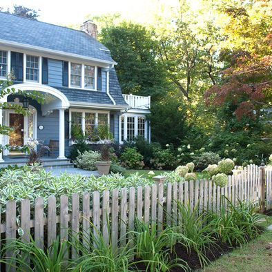 Front yard fences design pictures remodel decor and for Front yard renovation ideas