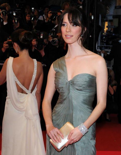 Actress Rebecca Hall attend the Vicky Cristina Barcelona premiere at the Palais des Festivals during the 61st Cannes International Film Festival on...