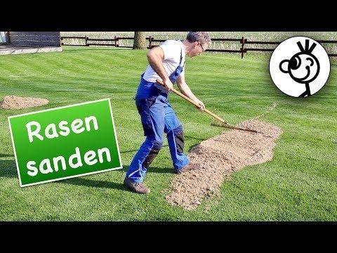 Das Beste Fur Perfekten Rasen Sand Youtube Garten Umgraben Rasen Garten Lavendel