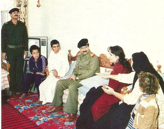 Saddam Hussein Was Visiting People In Their Homes And Recognizes His Impressions And Their Living Condition Saddam Hussein Damascus Syria Mesopotamia