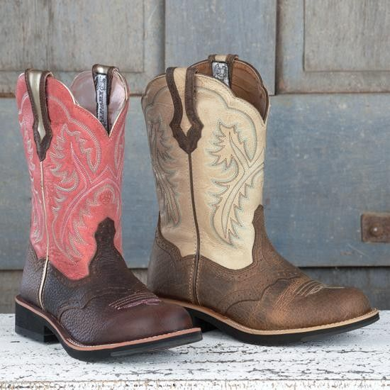 Ladie's Ariat Showbaby Round Toe Boots | My Style | Pinterest ...