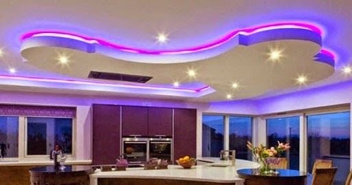 Get Stylish Look In Your Interior By Using Led False Ceiling Lights For Living Room And Led Str Ceiling Lights Installing Led Strip Lights False Ceiling Design