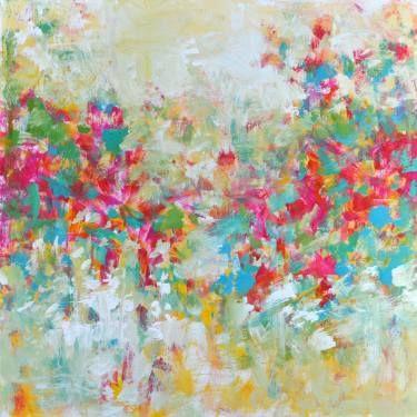 "Saatchi Art Artist Don Bishop; Painting, ""Sunshine Blooms"" #art"