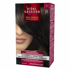 $2.00 Off any Vidal Sassoon Pro Series Hair Color.