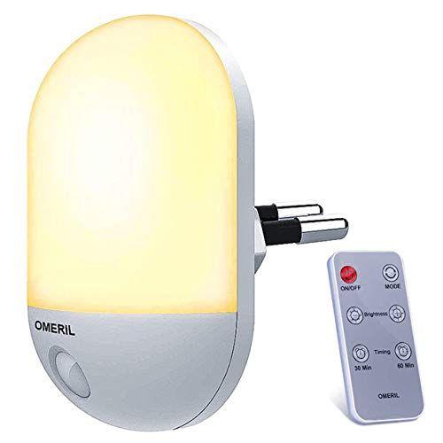 Kabellos Nachtlicht Kaltes Wei/ß und Wei/ß LED Unterbauleuchte mit Fernbedienung USB Aufladbar Batterie Schrankbeleuchtung LED Nachtlicht mit Bewegungsmelder 3 Modus Beleuchtung Warmwei/ß