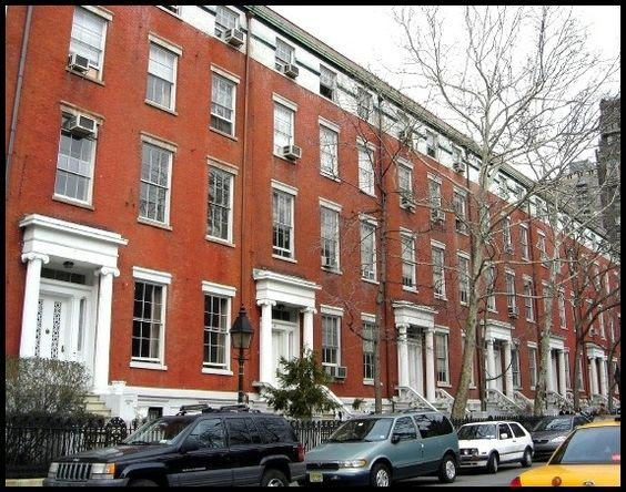 New York Row Houses : New york city row houses greenwich village rowhouses by