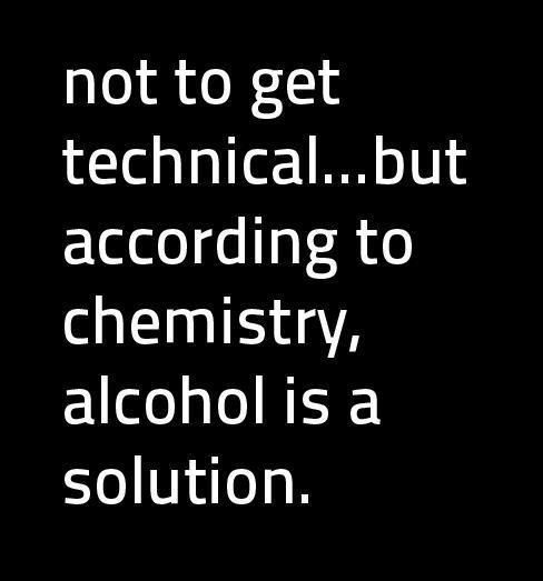 Funny Dirty Quotes For Facebook Status: Funny Facebook Status: Alcohol Is A Solution Funny