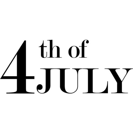 4th of July Text ❤ liked on Polyvore featuring words, text, backgrounds, quotes, titles, phrase and saying