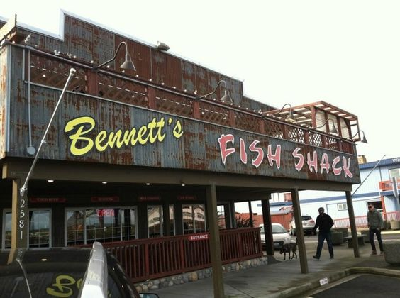 10. The Dungeness Crab & Cheddar Melt Sandwich from Bennett's Fish Shack (Westport, Ocean Shores, Grayland)