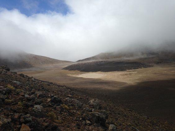 #TongariroCrossing #Wanderung in #Neuseeland  #NewZealand #Wandern #Hiking #Trekking #Outdoor #Landschaft #Mountain #Berge #Vulkane #Volcano #Tongariro